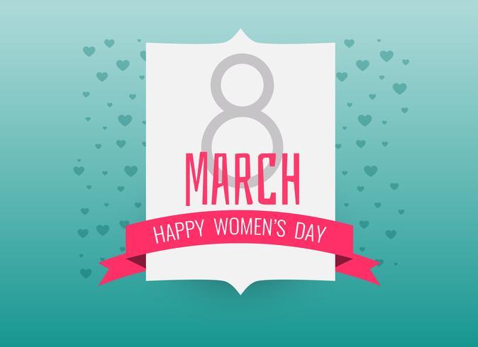 internationell lycklig kvinnodag bakgrund