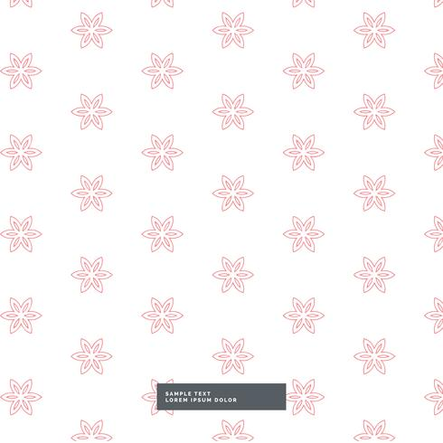 cute flower fabric pattern background