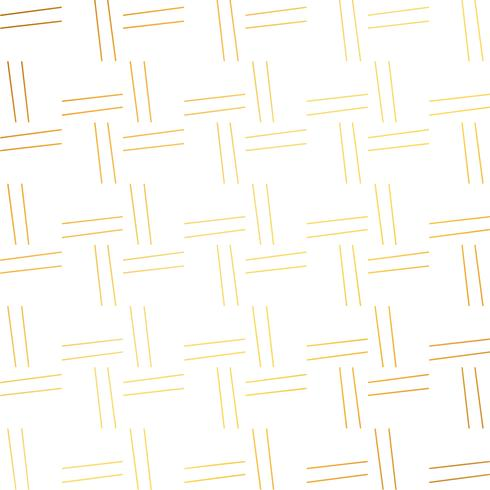 simples lines pattern in golden color