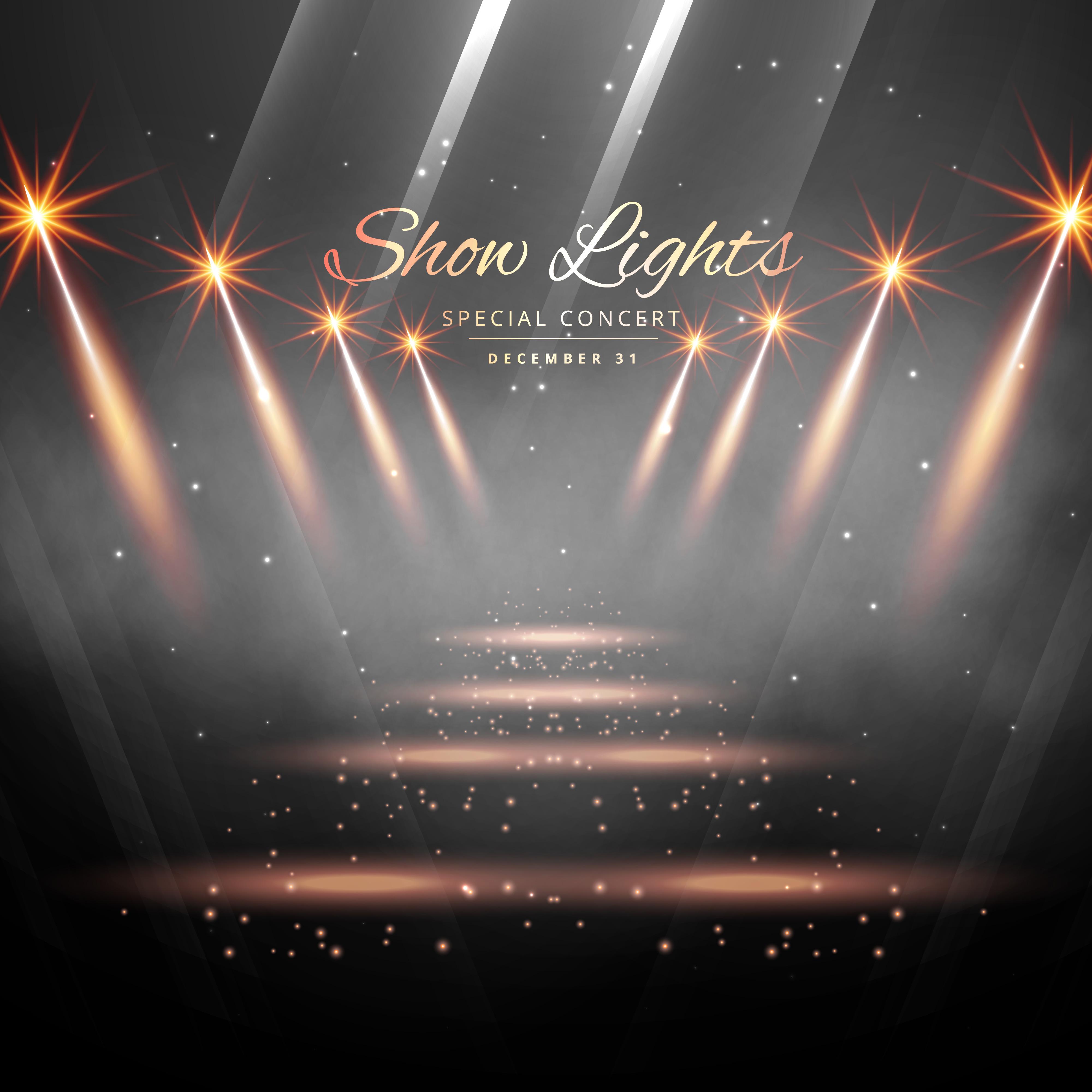 Stadium Lights Svg: Spot Light Free Vector Art