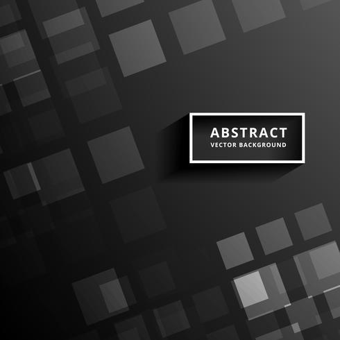 schwarzes Mosaikvektorhintergrunddesign