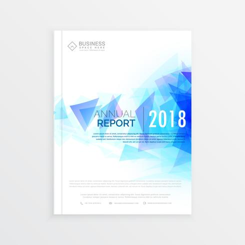 creative brochure template, annual report magazine cover design
