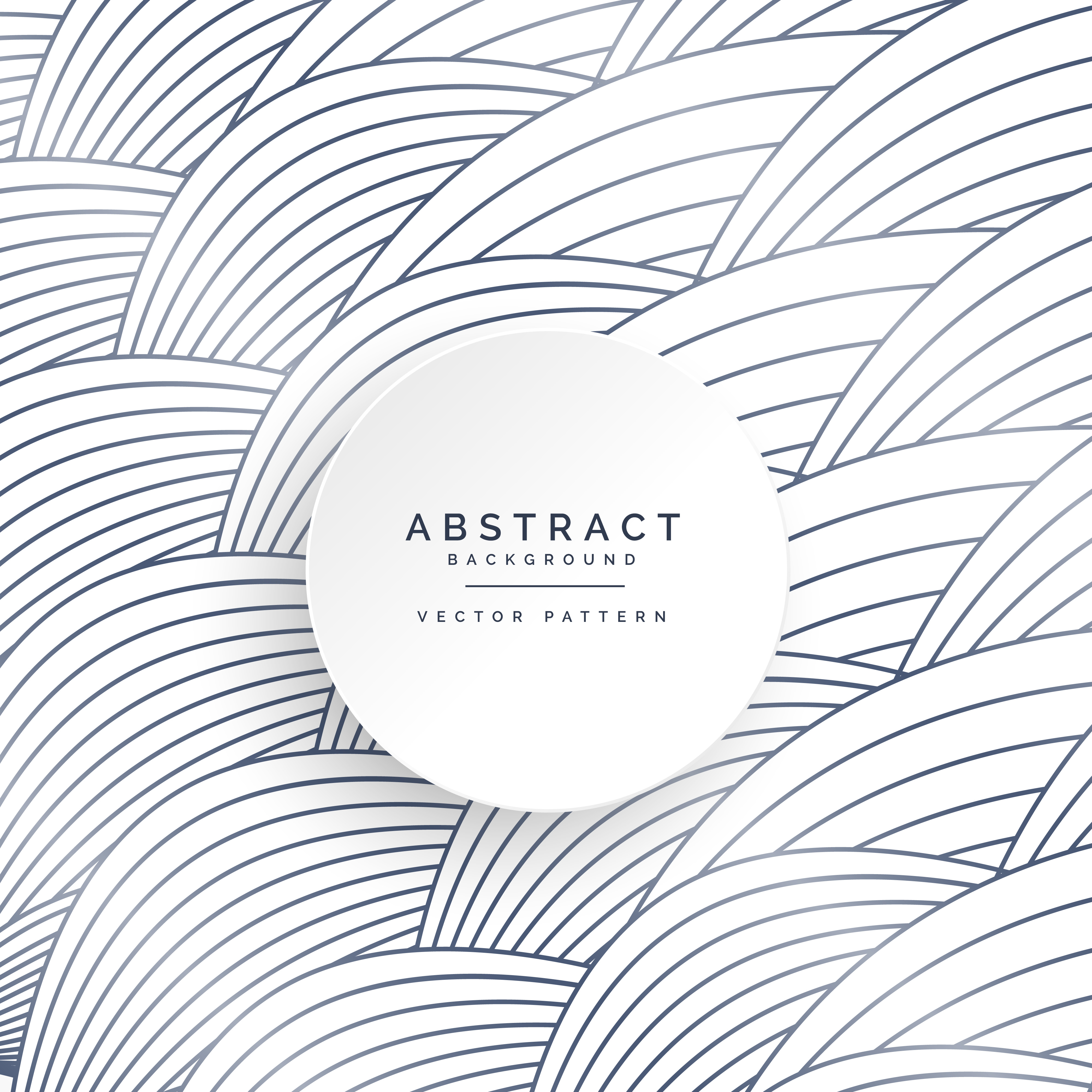 Vector Drawing Lines Examples : Curve wavy lines pattern background download free vector