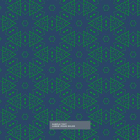 abstract shape green pattern in blue background