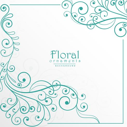 lovely floral background design