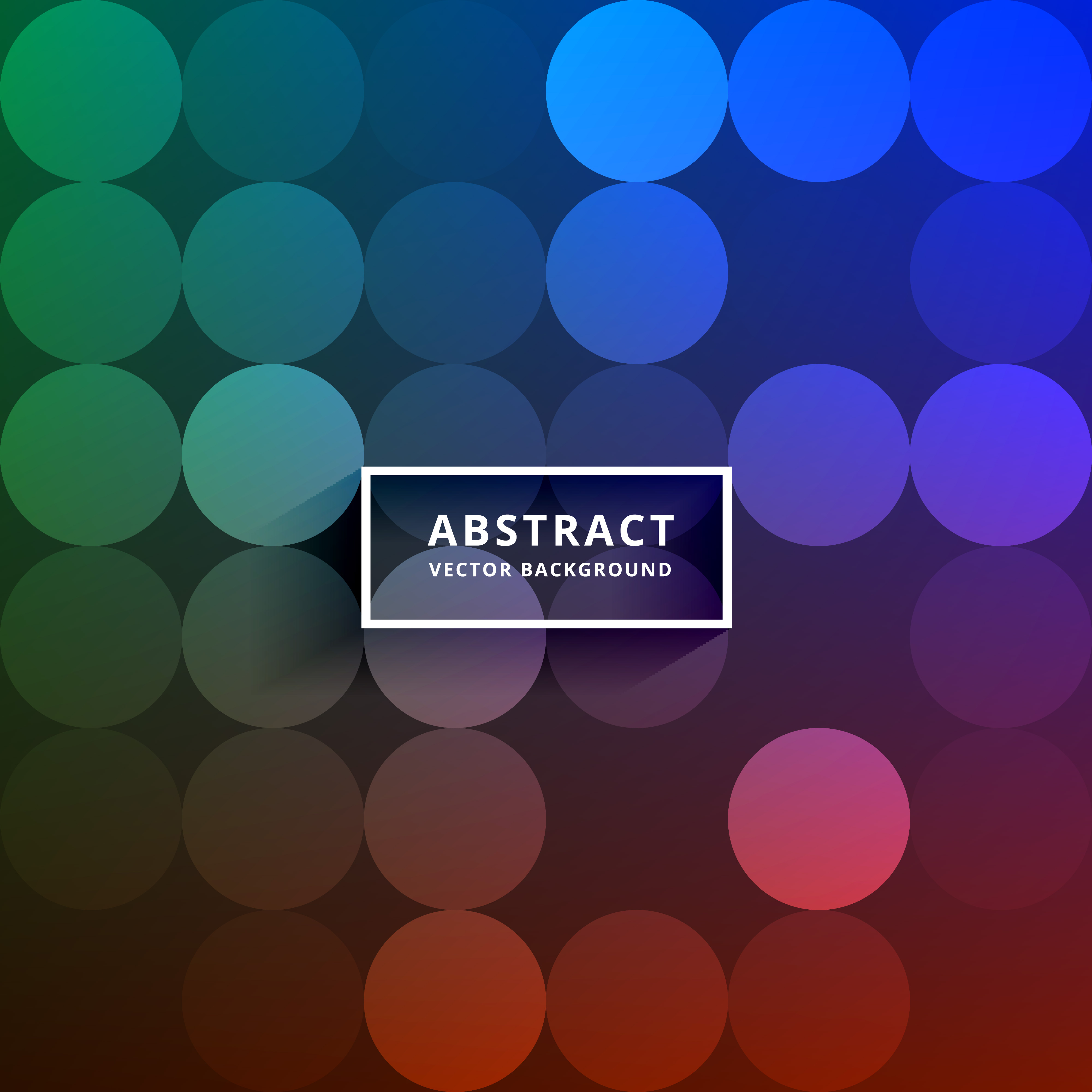 Aninimal Book: colorful circles pattern vector background - Download Free ...