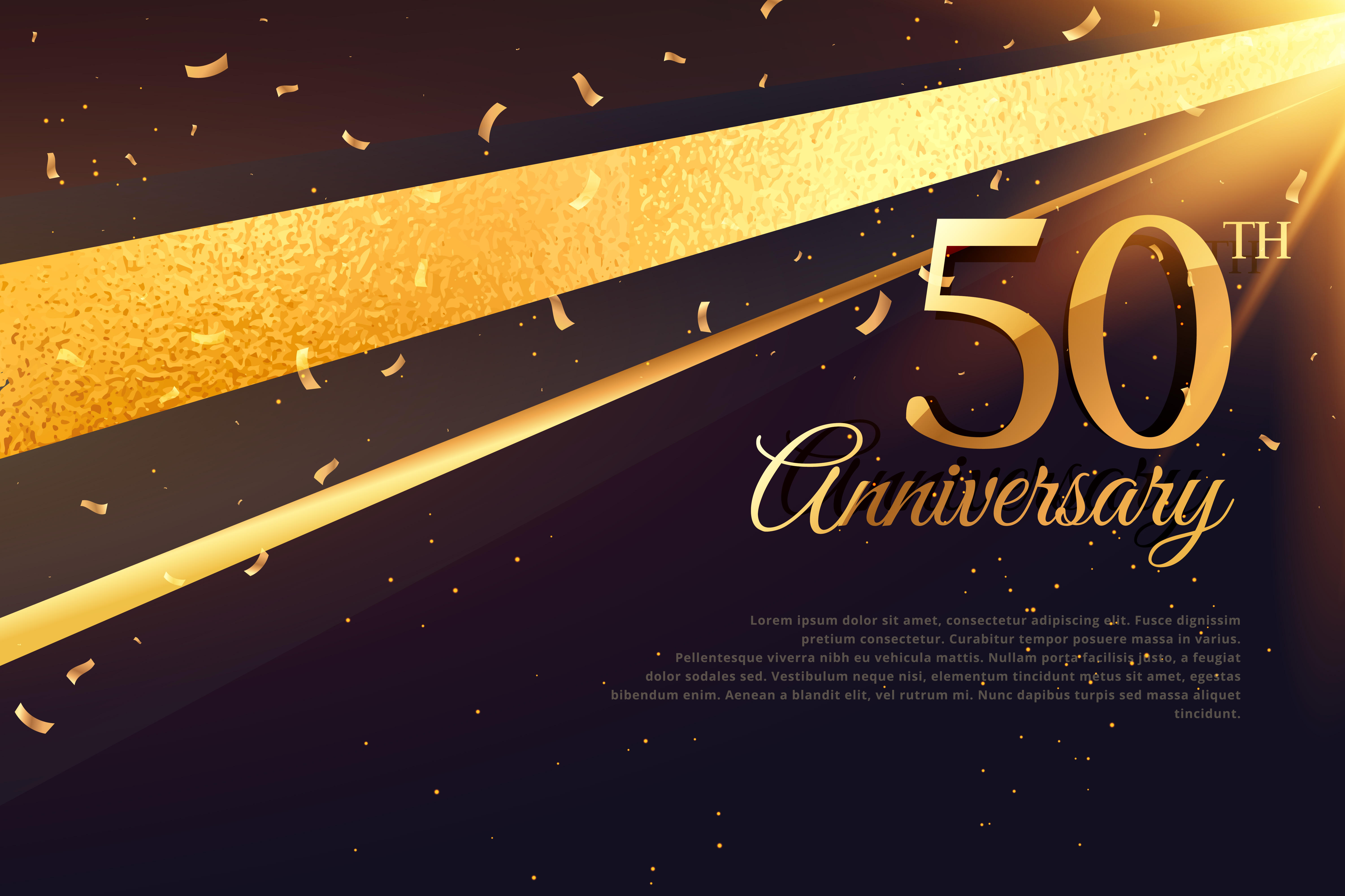 50th Anniversary Free Vector Art 1290 Free Downloads