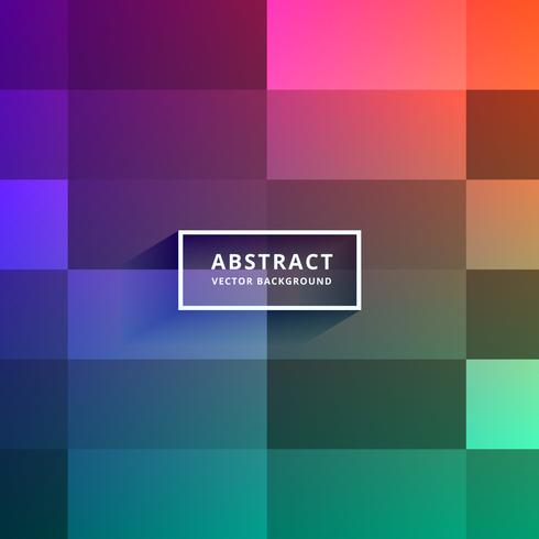 colorful tiles vector background design