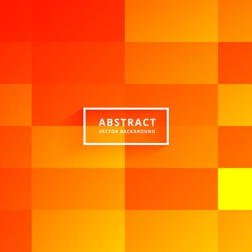 bright orange tiles abstract background