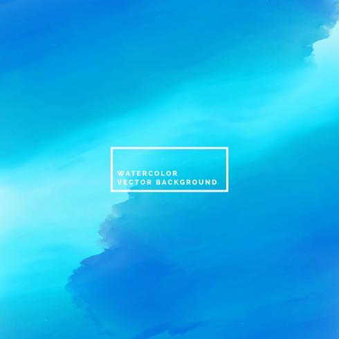 fond de peinture aquarelle mer bleue