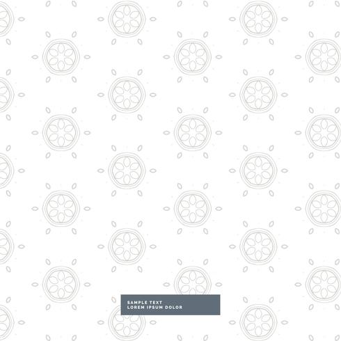 elegant gray pattern on white background