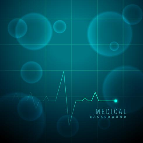 life line heartbeat medical background