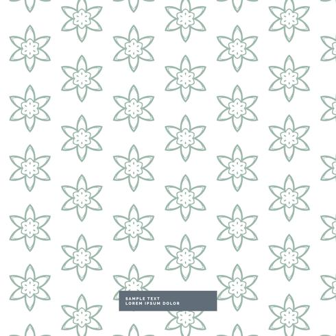 minimal flower pattern background