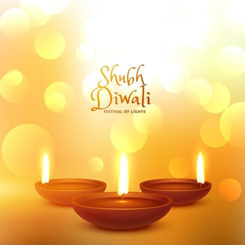 Happy Diwali Hindu Festival schönen Hintergrund
