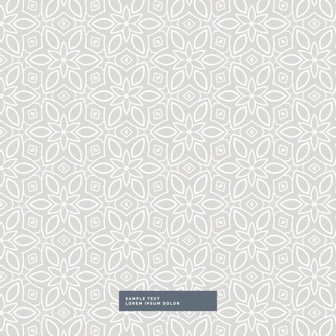 gray flower pattern background