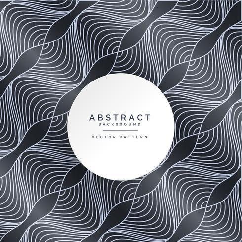 modern dark pattern with wavy lines