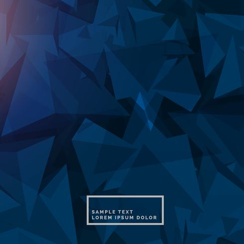 abstract blue background with polygon shapes