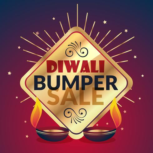 bumper diwali sale offer and discount presentation template