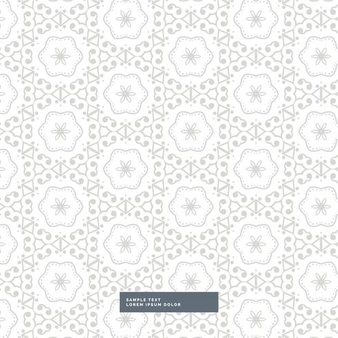abstract gray pattern background with flower style shapes