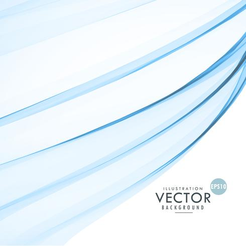 stylish blue wave abstract background