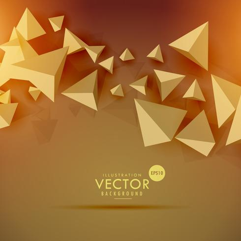 abstract 3d polygon background design