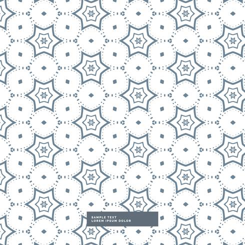 beautiful star pattern design on white background