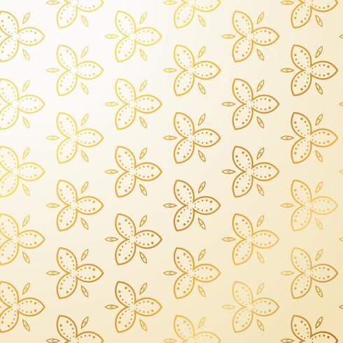 luxury vintage floral decoration background