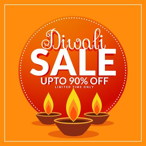diwali festival discount and sale poster template with three diy