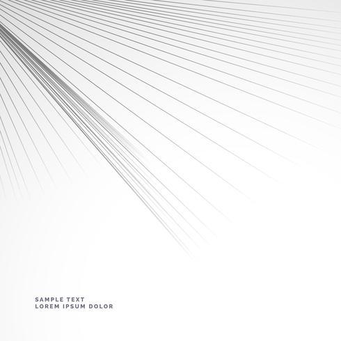 lignes abstraites éclatant du coin