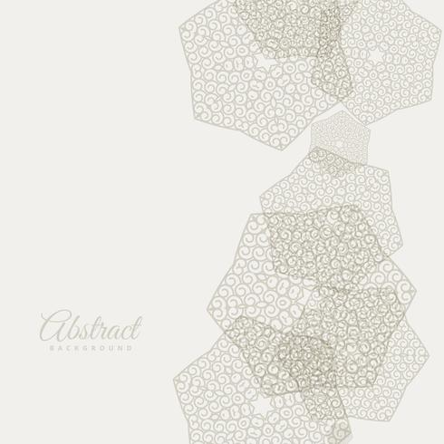 abstract gray background with hand drawn shapes