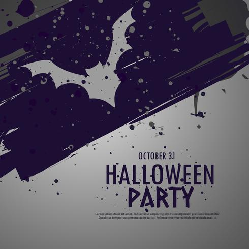 grunge halloween party celebbration background