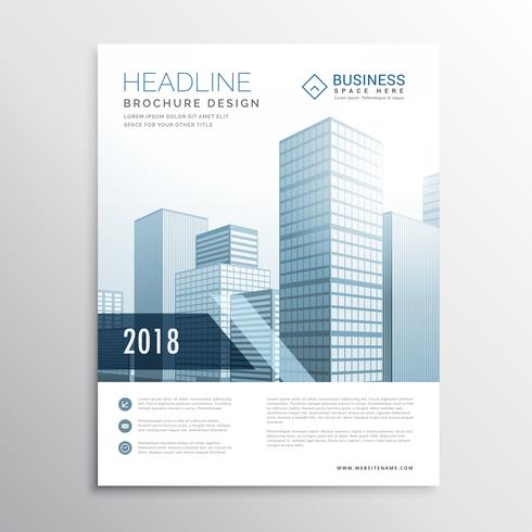 creative business flyer brochure design template cover for prese