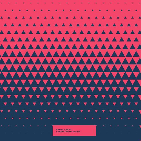 red and blue abstract triangle background