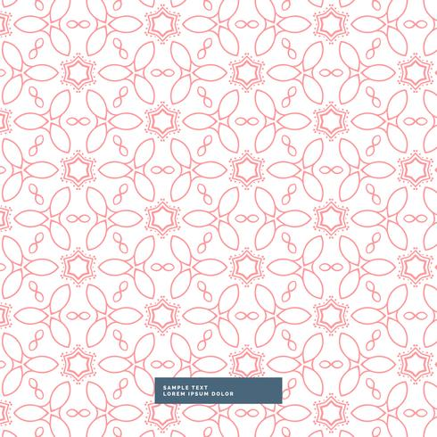 pink floral flower style pattern background