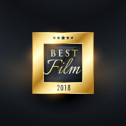 Bester Film Filmpreis Golden Label Design