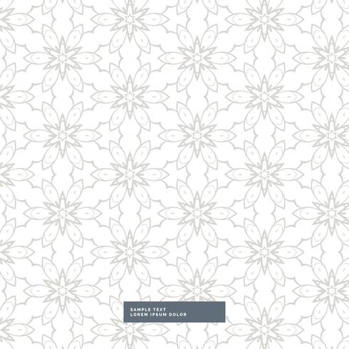 beautiful abstract flower pattern in gray color