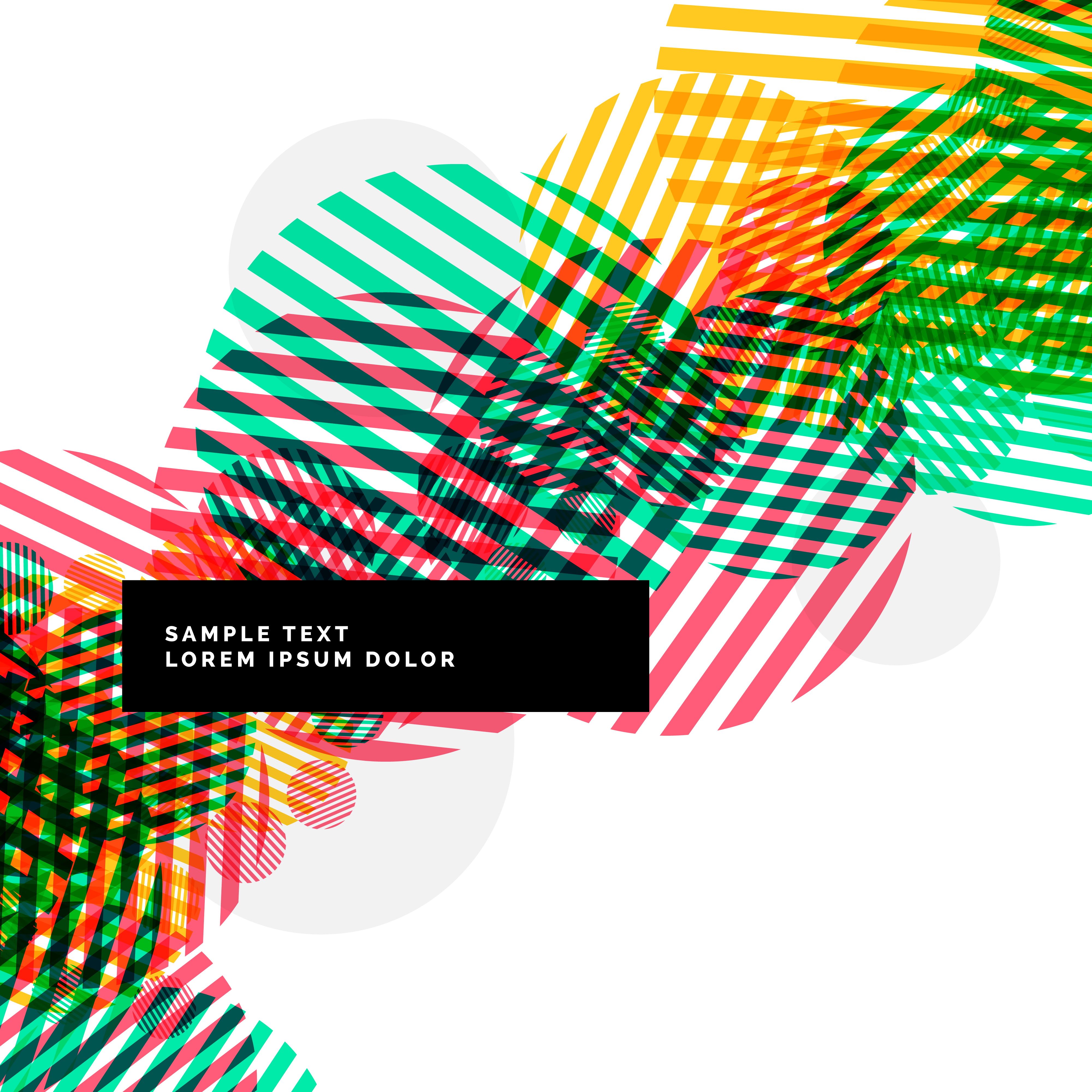 colorful abstract circles fashion background - Download ...