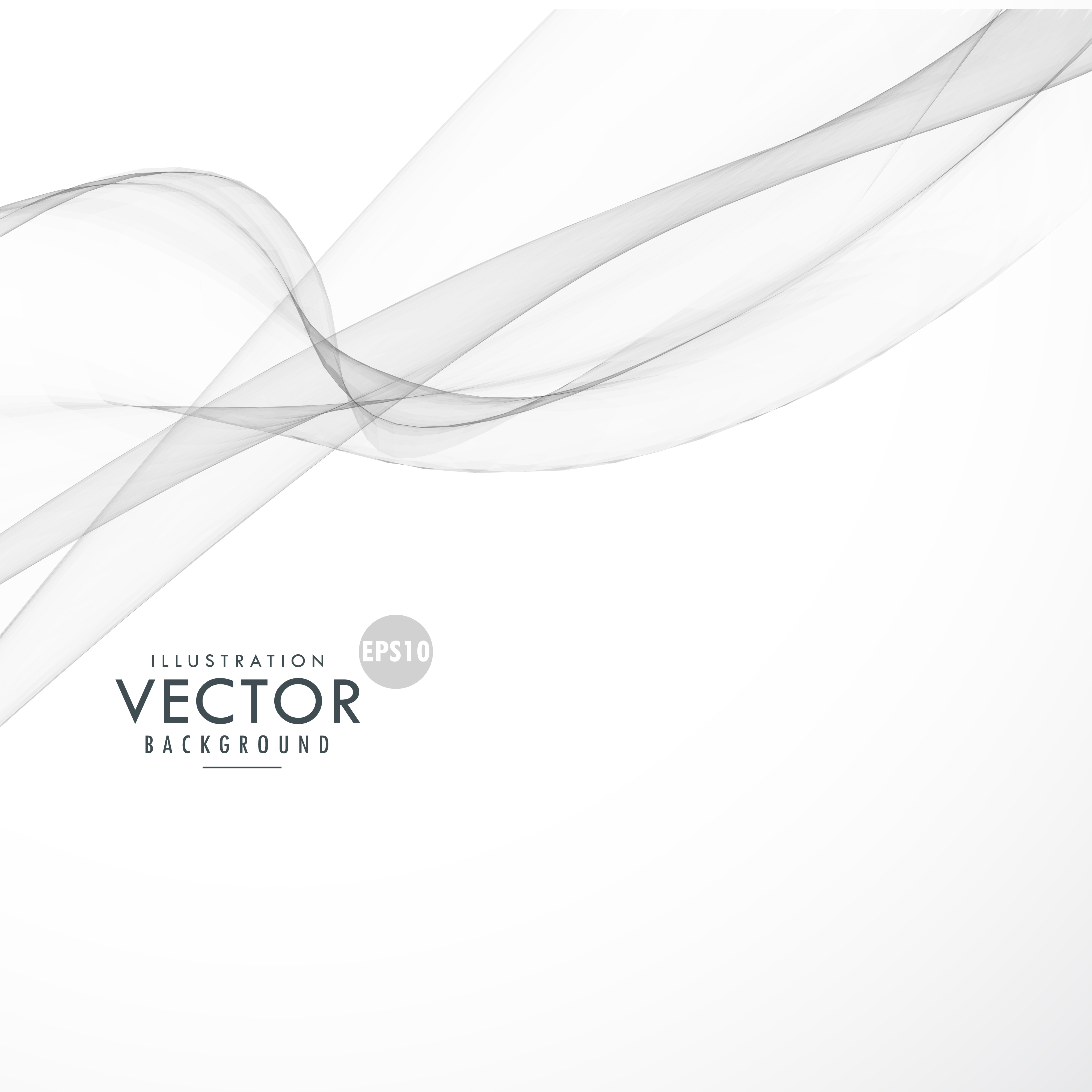 White Abstract Background Free Vector Art