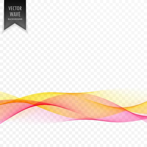 pink and yellow abstract elegant wave background