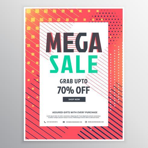 Mega-Verkauf Broschürenvorlage für Werbung und Promotion
