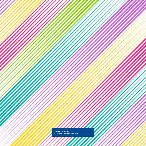 colorful diagonal lines abstract background
