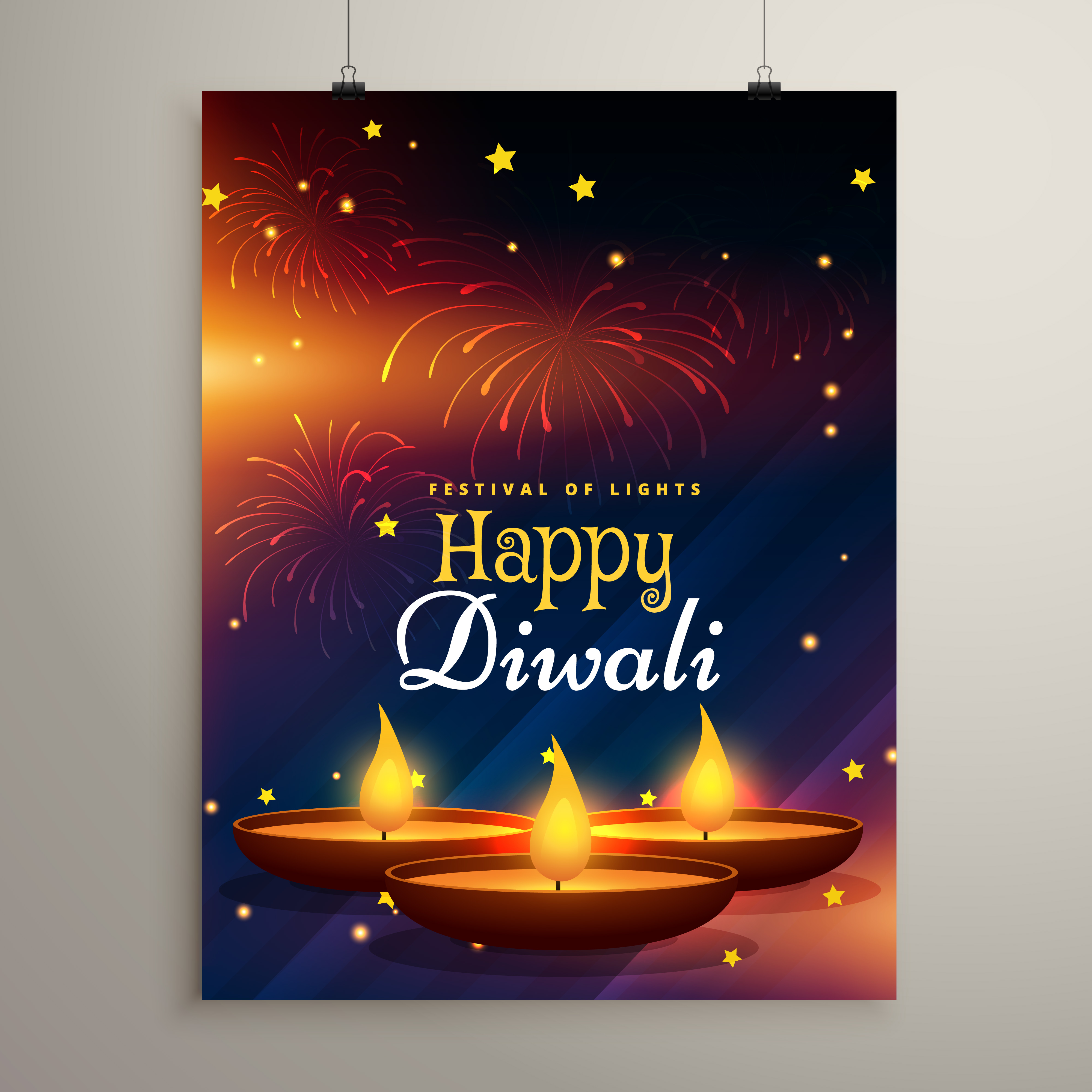 flyer design for diwali festival  diwali greeting card