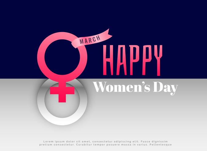 international women's day concept design background
