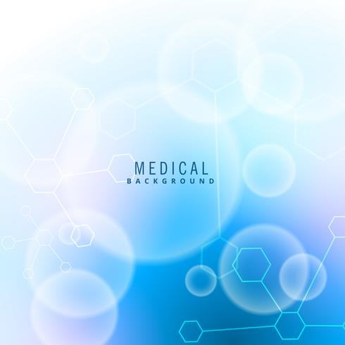 moclecules and particles medical background
