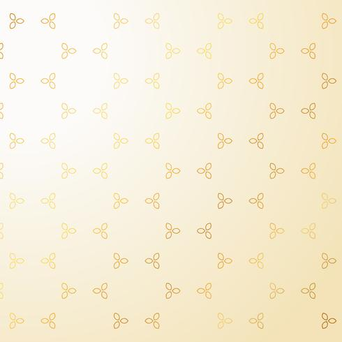 cute golden small flowers decoration pattern