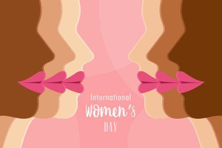 Internationaler Tag der Frau Vektor