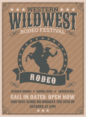 Rodeo-Flyer