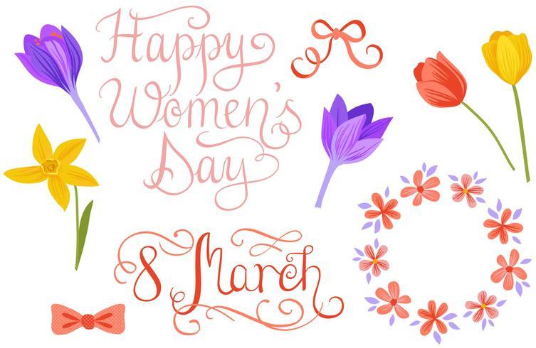 Frauen Tag Vektoren