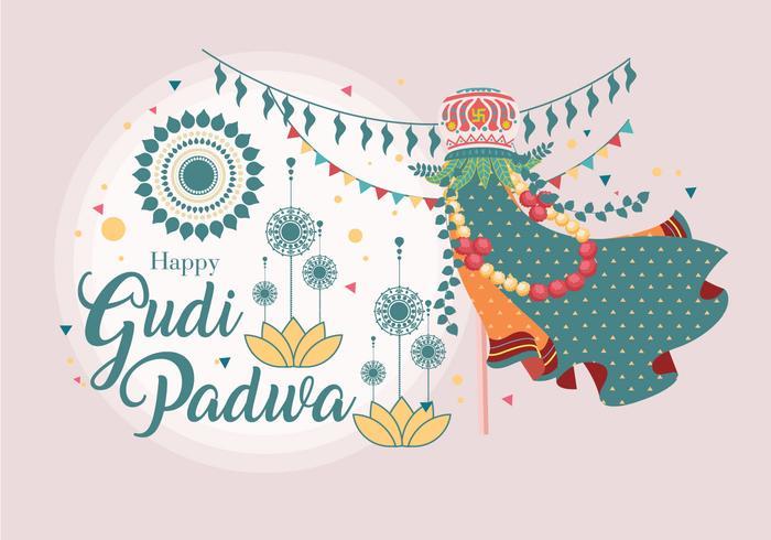 Gudi Pawda Vol 2 Vecteur