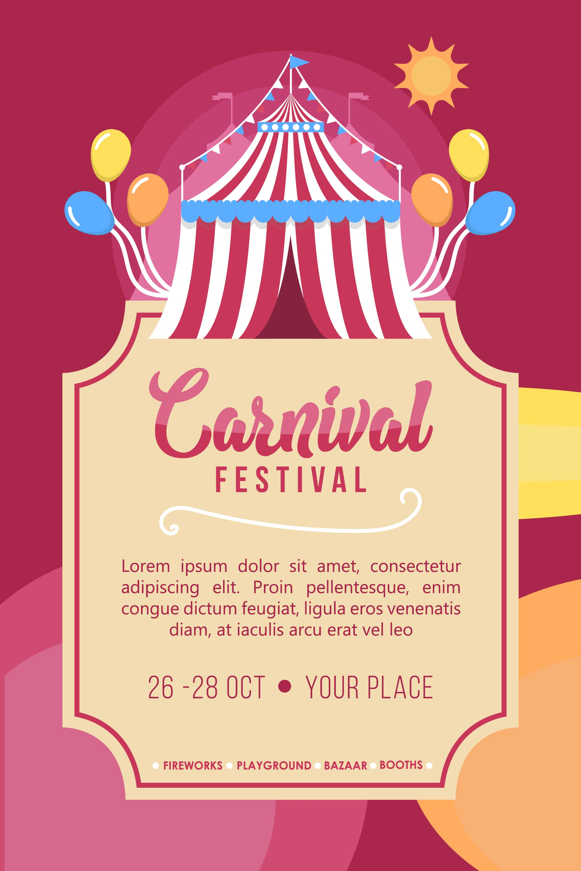 Carnival Poster Vector Download Free Vectors Clipart